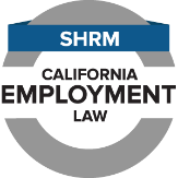 shrm ca employment law logo